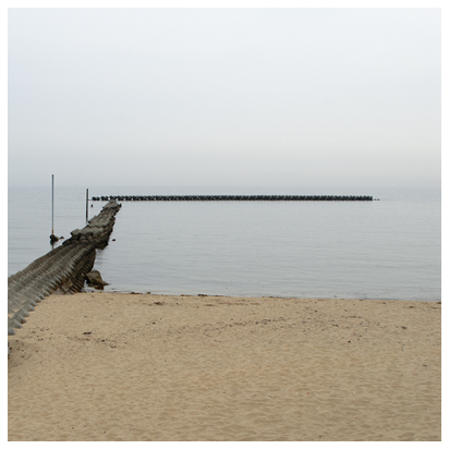 6月1日 午後5時頃の海と空