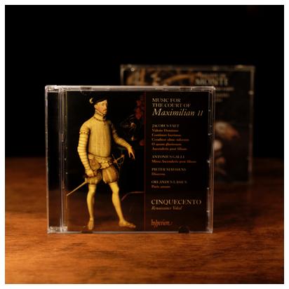 「マクシミリアンII世時代の宮廷音楽」チンクエチェント