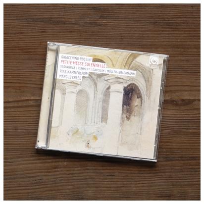 ロッシーニ「小ミサ・ソレムニス」クリード&RIAS室内合唱団
