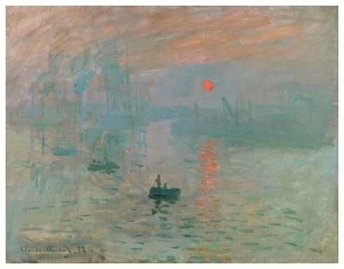 クロード・モネ「印象、日の出」
