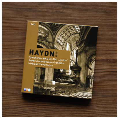 「ハイドン・エディション ロンドン交響曲」 アーノンクール&コンセルトヘボウ管弦楽団