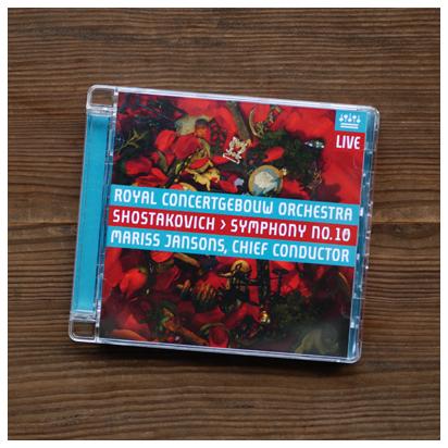 ショスタコーヴィチ 「交響曲 第10番 ホ短調 作品93」 ヤンソンス&コンセルトへボウ管弦楽団