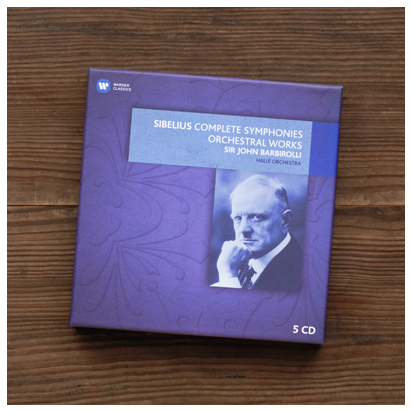 「シベリウス 交響曲全集、交響詩集」 バルビローリ&ハレ管弦楽団