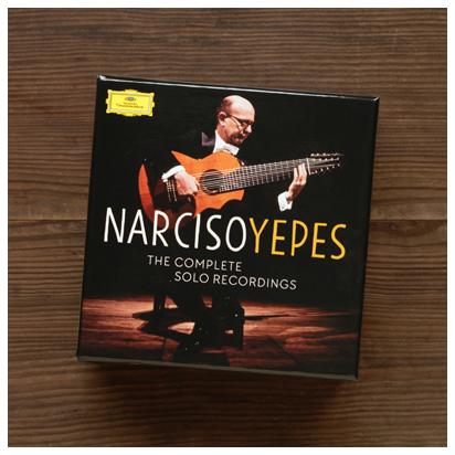 ナルシソ・イエペス「ギター・ソロ録音全集」