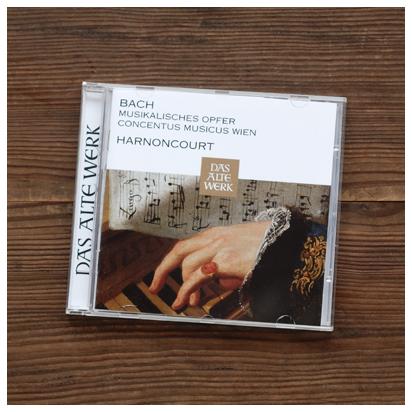 バッハ「音楽の捧げもの」ニコラウス・アーノンクール&ウィーン・コンツェントゥス・ムジクス」
