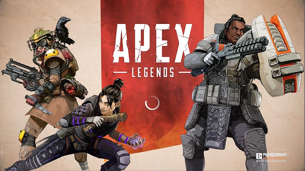 Apex Legendsのトップ画面