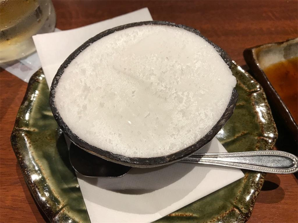 ココナッツシャーベット