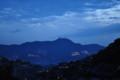 大浦から望む稲佐山