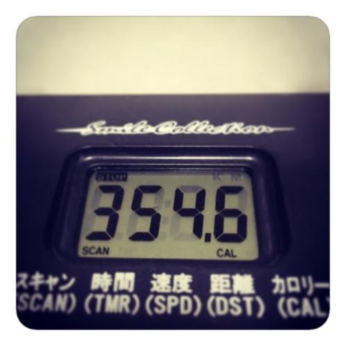 【エアロバイク354.6Kcal】
