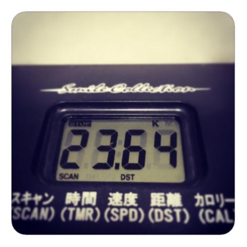 【エアロバイク23km】