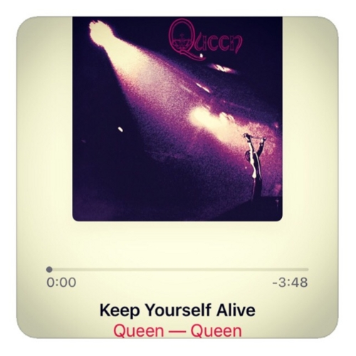 【Keep Yourself Alive】