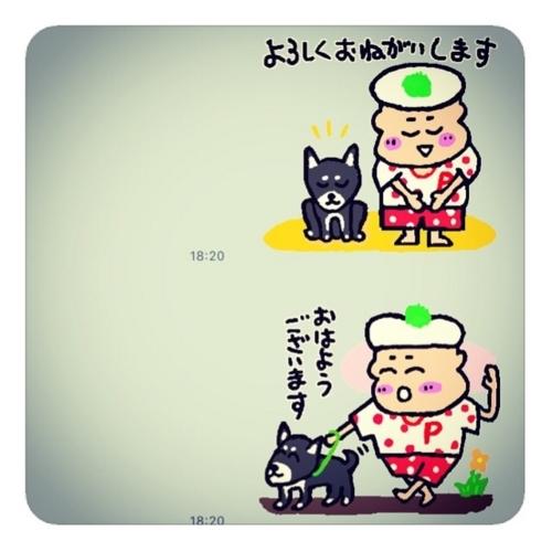 【パッパラー河合LINEスタンプ1820】