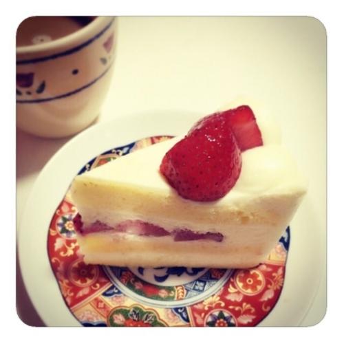 【イチゴのショートケーキ】