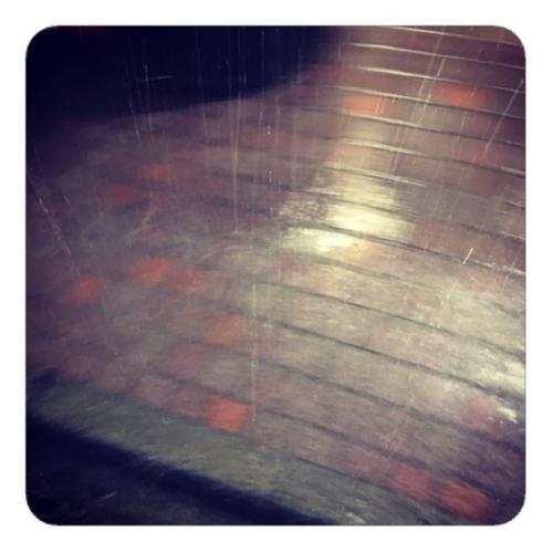 【台風直下の大雨】
