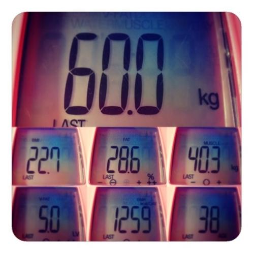 【今週の体重】