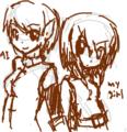[ゲーム版権][TwinHearts(仮)]PSPo2ニュマ子さん+うちの娘