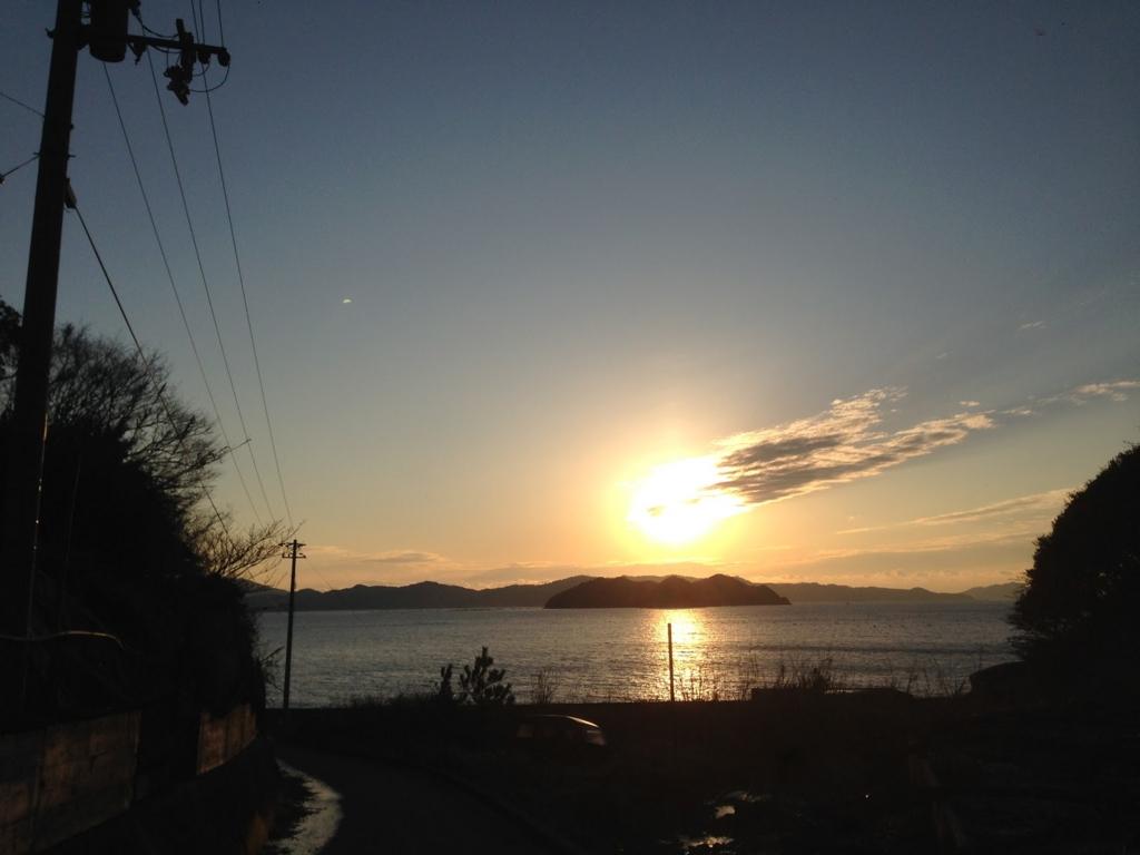 九島 夕日