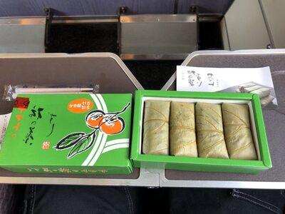 柿の葉寿司の画像