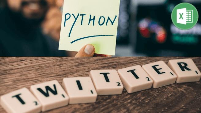 Python入門 Twitter API・Excelでできること