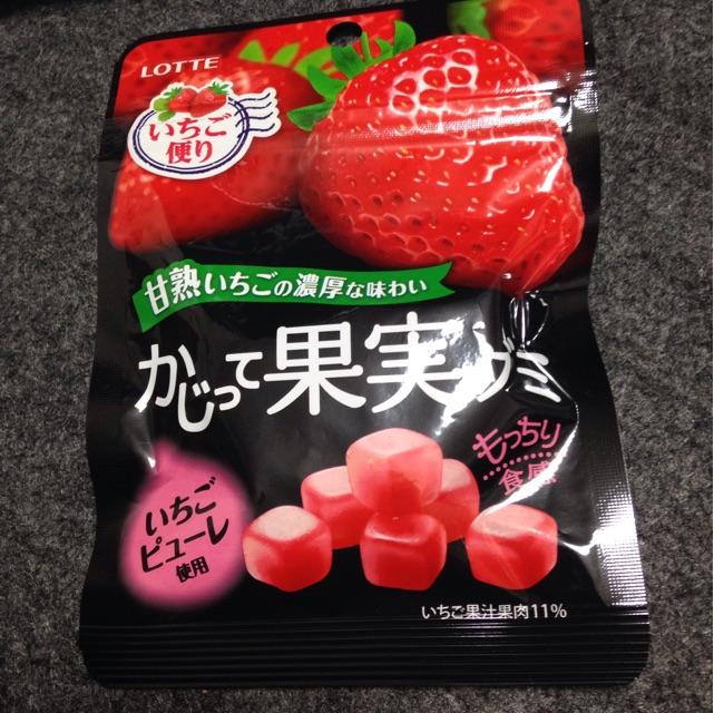 かじって果実グミ いちご味