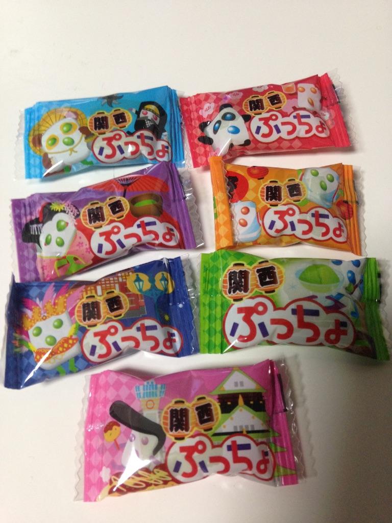 関西ぷっちょ 宇治抹茶アイス味