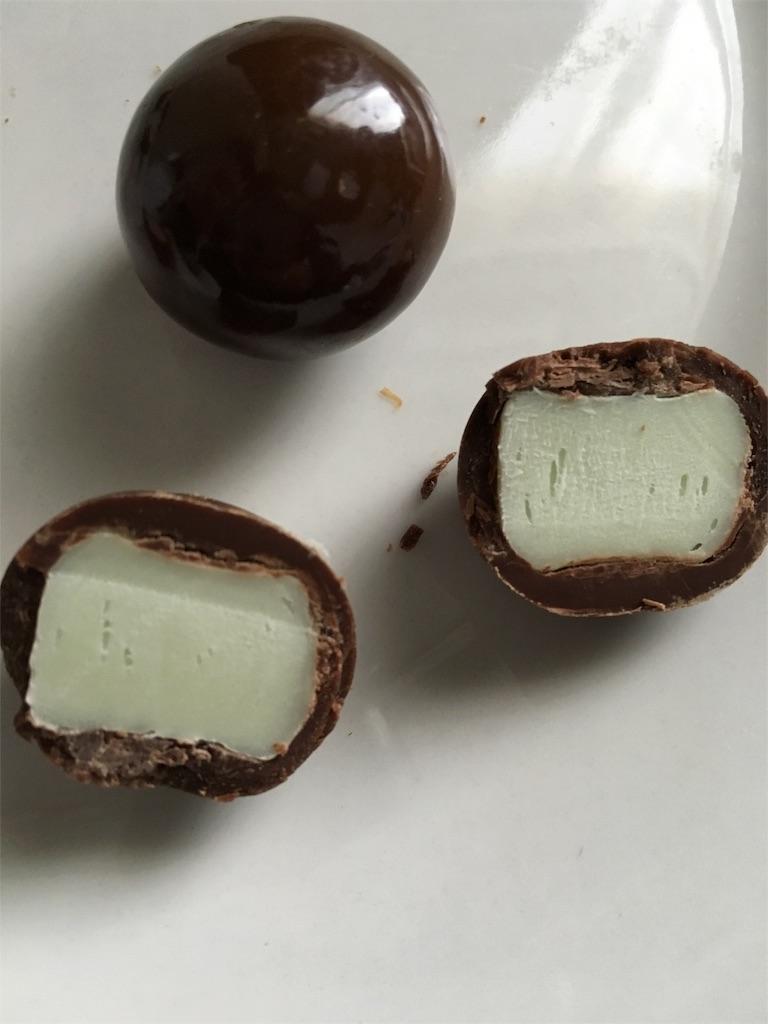 チョコ玉ハイチュウ グリーンアップル