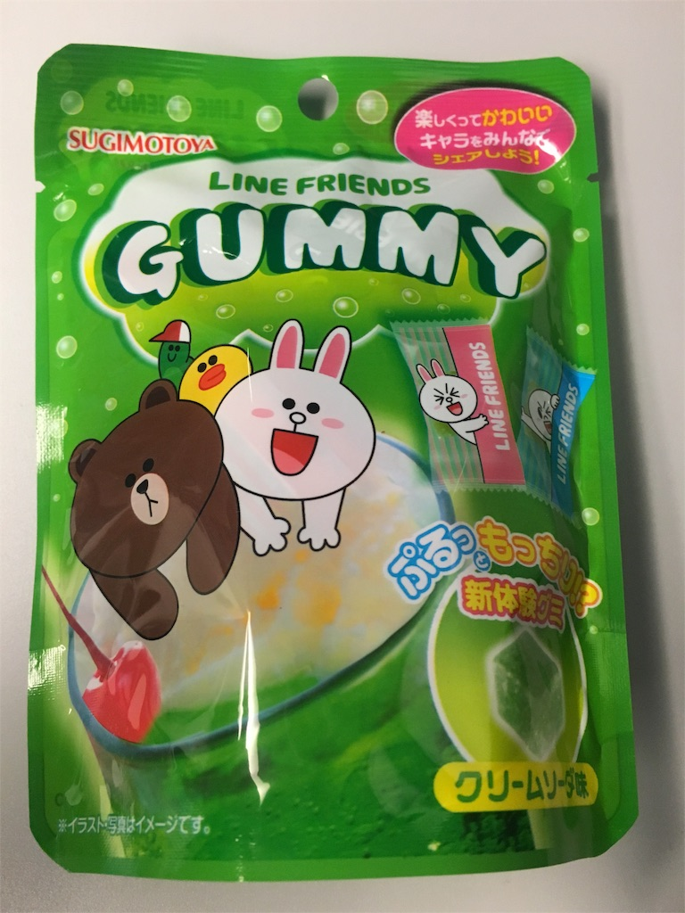 LINE FRIENDS GUMMY