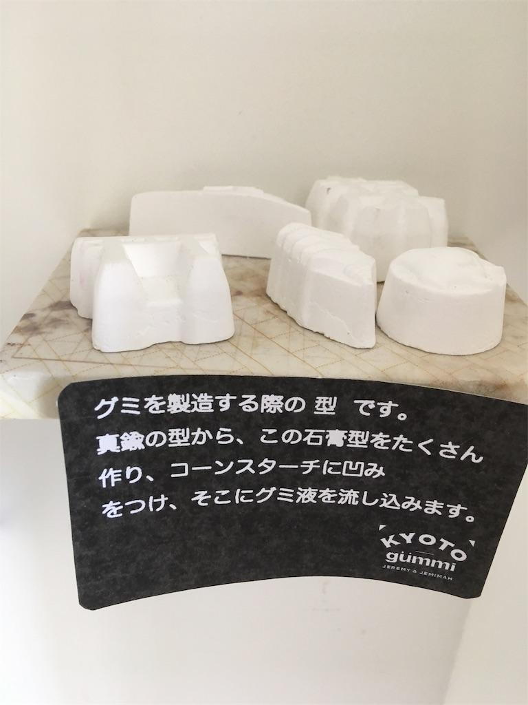 グミを製造する型