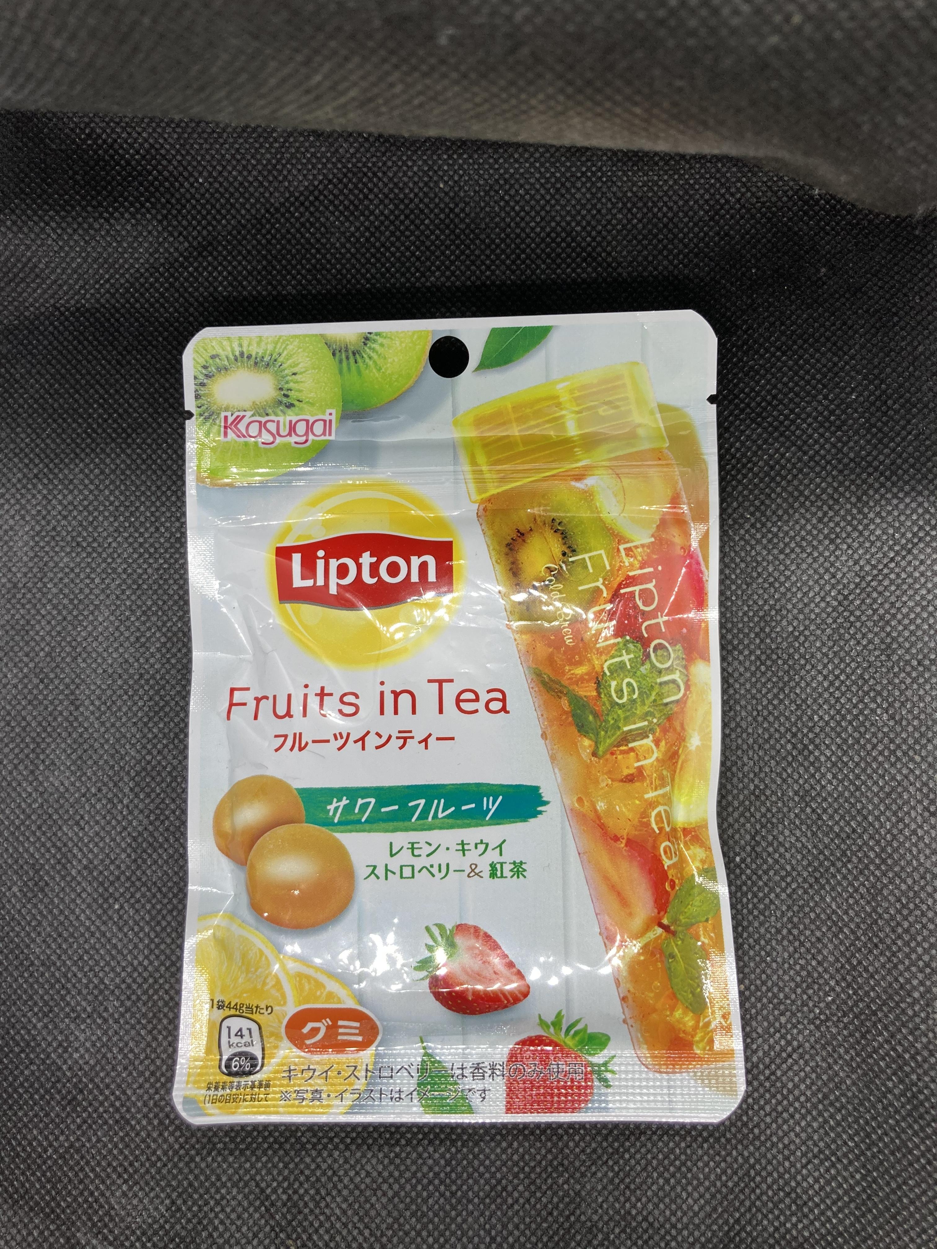 Lipton(リプトン) フルーツインティーグミ  サワーフルーツ