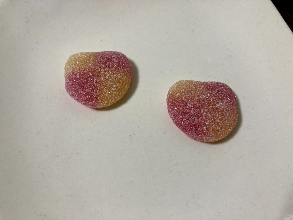 HARIBO ピーチ味
