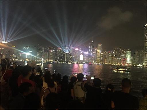 シンフォニーオブライツ_香港の100万ドルの夜景