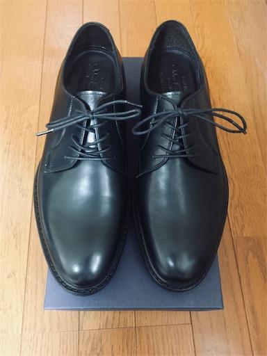新品時のジャランスリワヤの革靴