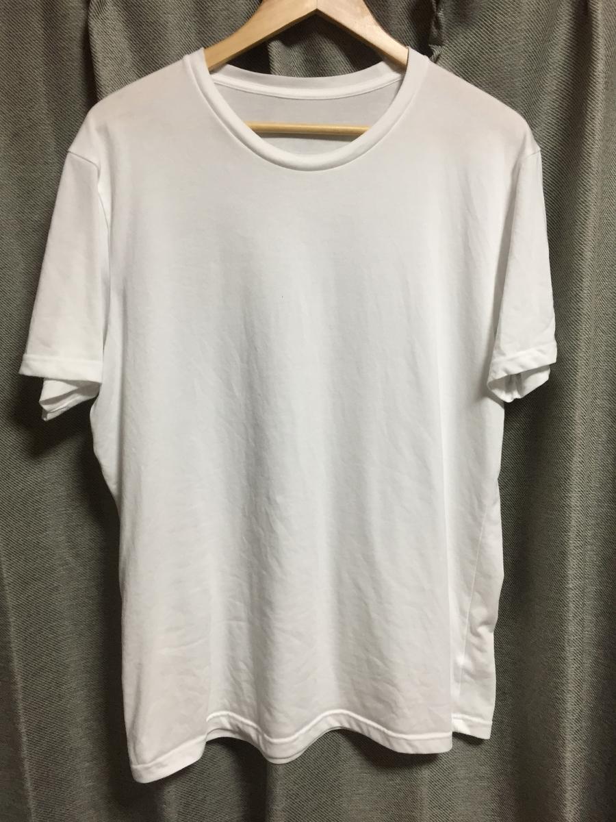 ユニクロのドライカラークルーネックTシャツ(パックT)