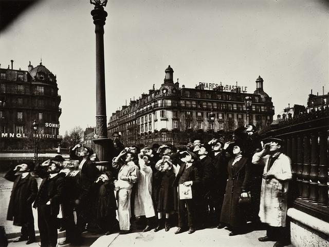 ≪Eclipse, 1911 ≫Eugène Atget