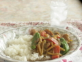 エスビー食品株式会社「タイ風グリーンカレー」完成。野菜多め。
