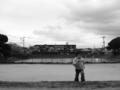[OLYMPUS][E-420][25mm]池の公園で