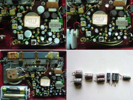 アンティーク・ラジオの修理