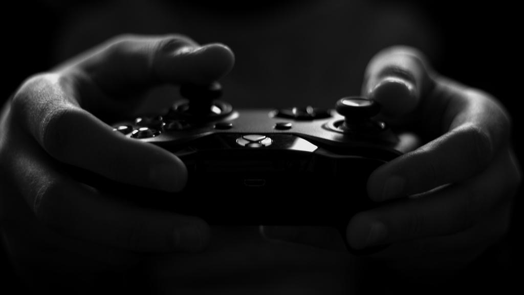 ゲームをプレイしている画像