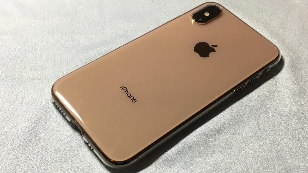 iPhioneXSゴールドの画像