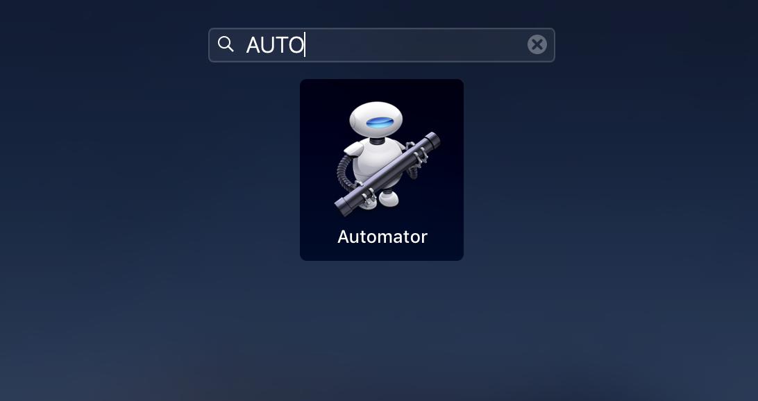"""Automator"""