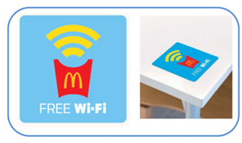 マクドナルドのフリーWi-Fiを接続する方法