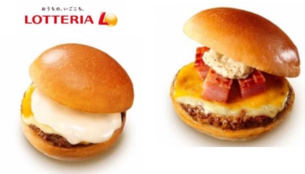 ロッテリアからチーズがたっぷりの絶品チーズバーガー2種類が11月29日発売開始