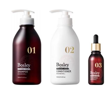 女性のための頭皮改善シャンプー「Bosley」が11月15日より発売。毛髪科学のボズレー