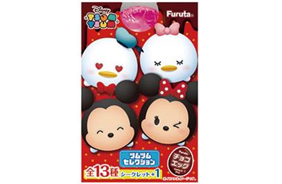 フルタ製菓「チョコエッグ ツムツムセレクション」が3月13日発売。今回のチョコエッグは全フィギュアツムツムキャラクター!