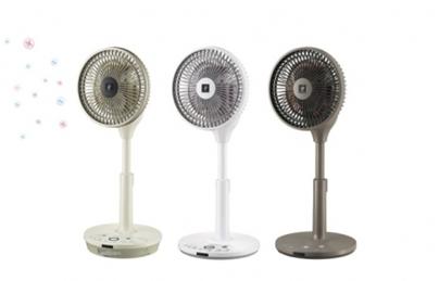 シャープ、プラズマクラスター扇風機5機種を発売 「コードレス 3Dファン」「リビングファン」など