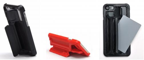 3Dプリンターで製作した片手操作が可能な変形するスマホケース「GRIPL(グリップル)」4月発売開始