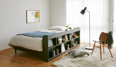 フランスベッドがキャビネット付のストレージベッド「FIERTE(フィエルテ)」を発売
