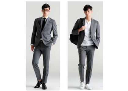 青山商事、スポーツウェアの機能も備えたスーツ「アクティブセレクション」発売