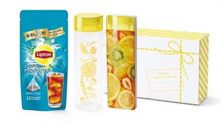 Fruits in Tea「リプトンコールドブリュータンブラーセット」が4月24日より発売