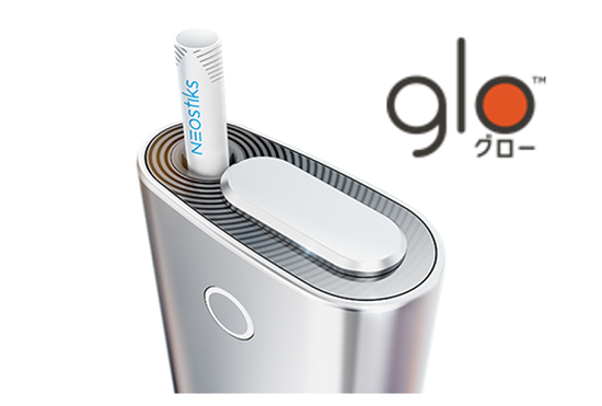 glo本体とロゴ